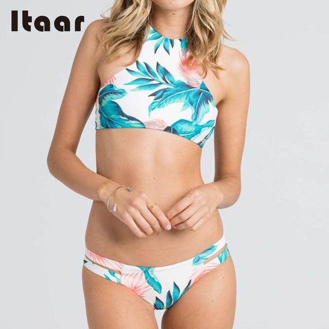 Vessos Women Floral Bikini 2017 Brazilian Maternity SwimwearS Top Biquini Praia