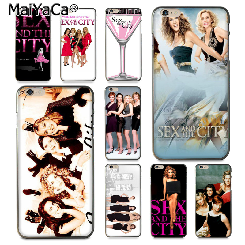 MaiYaCa <font><b>Sex</b></font> and the City girl Diy Luxury High-end Protector phone <font><b>Case</b></font> for <font><b>iPhone</b></font> 8 <font><b>7</b></font> 6S <font><b>Plus</b></font> X XS XR XSMax 5 5S SE Coque Shell image