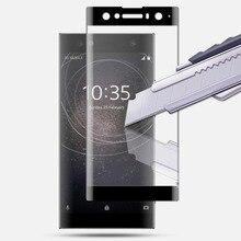 3D закаленное стекло с полным покрытием для SONY Xperia XA XA1 PLUS XA2 Ultra XZ Premium XZ1 XZ2 Compact XZ3 Защитная пленка для экрана, защита