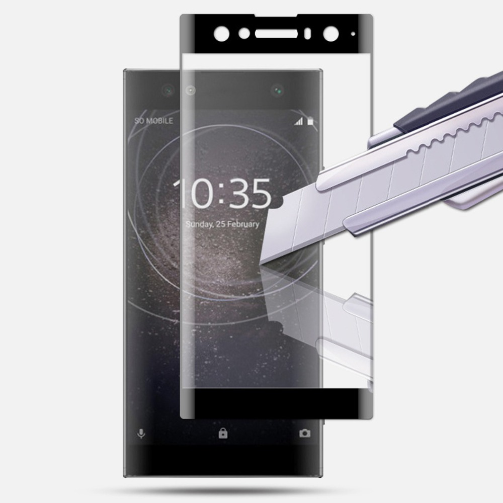 3D Full Coverage Tempered Glass For SONY Xperia XA XA1 PLUS XA2 Ultra XZ Premium XZ1 XZ2 Compact XZ3 Protection Screen Protector
