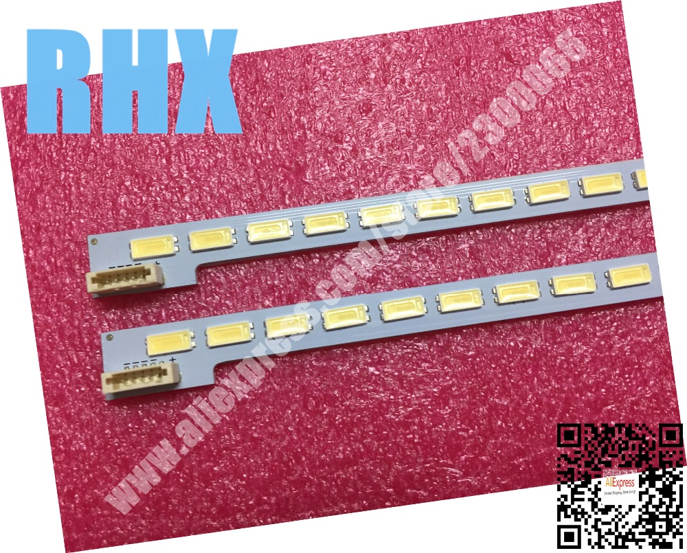 2Piece/lot For Repair Samsung LCD TV LED Backlight SSL460-3E1B Article Lamp 2012SGS46 7030L 64 REV1.0 1piece=64LED 570MM  Is New