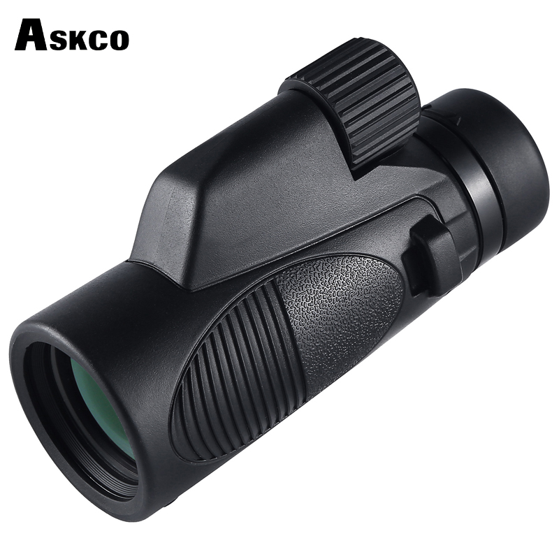 Excellent Quality 10x42 Monocular Telescope Bak4 Prism Optics Outdoor Camping Hunting Binoculars Waterproof Spotting Scope M77 2017 new arrival all optical hd waterproof fmc film monocular telescope 10x42 binoculars for outdoor travel hunting