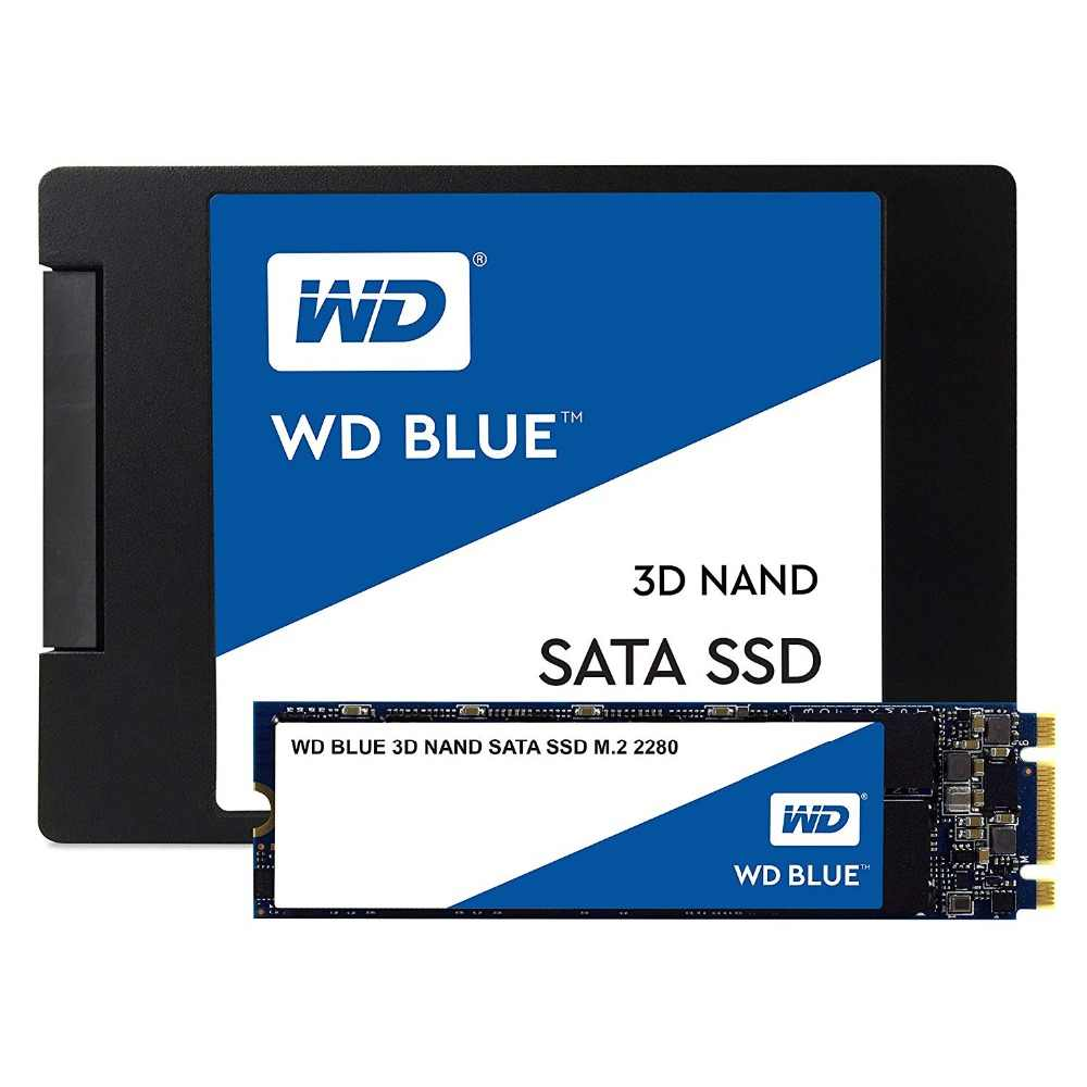 WESTERN DIGITAL WD BLUE 3D NAND SSD 250GB interno SATA3.0 m2 2280 NGFF disco duro de estado sólido para PC portátil WDS250G2B0B