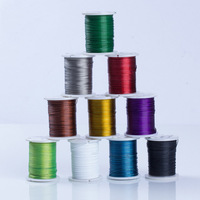 Tiger Tail Wire With Plastic Spool Plated With Painted More Colors For Choice 0 45mm Sold