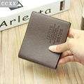 2016 Famous Brand Fashion Wallet Male Bag Short Design Purse High Quality PU Men Wallets Card Holders Carteira Masculina PT0107