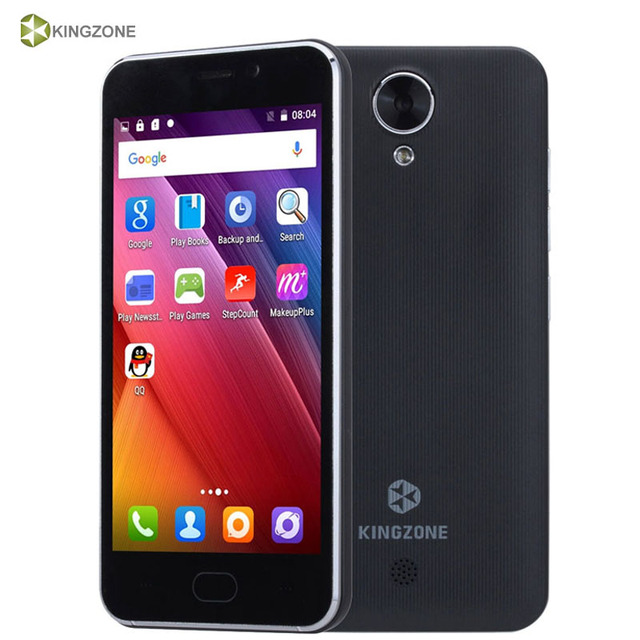 Original KINGZONE S2 ROM 8GB+RAM 1GB Network 3G 4.5 inch Android 6.0 MTK6580 Quad Core up to 1.3GHz Smartphone GPS WCDMA GSM