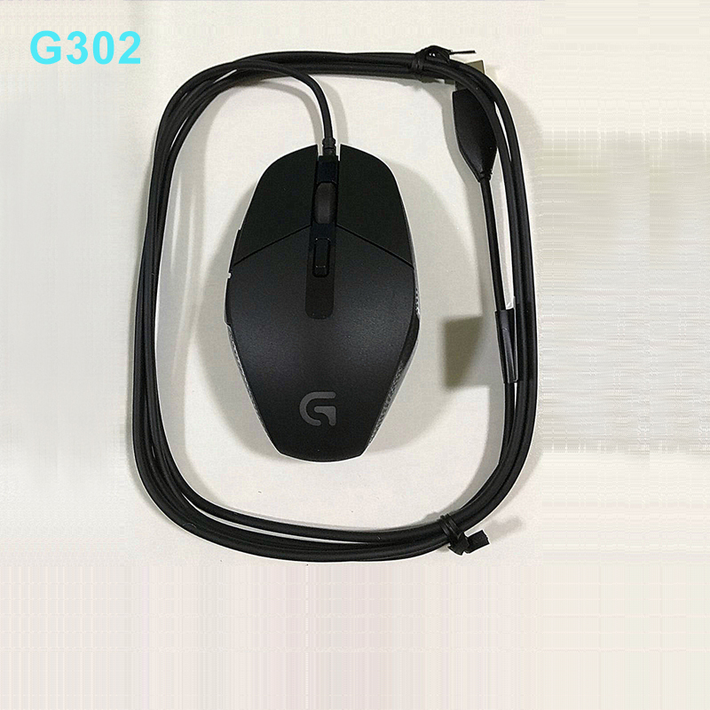 Genuine Brand New Logitech G302 Daedalus Prime MOBA Wired Gaming Mouse logitech g303 daedalus apex 910 004382