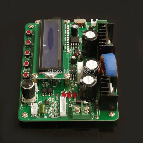DC Converter 300W Programmable CC CV Power Supply Module IN 13-62V OUT 0-60V