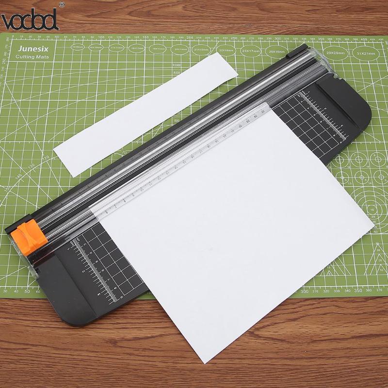 Portable Mini A4 Precision Paper Photo Trimmers Cutter For DIY Scrapbook Trimmer Lightweight Cutting Mat Machine Tools 2018 New