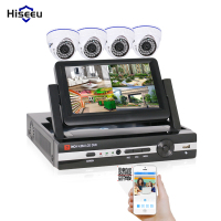 4CH CCTV System 960H DVR HDMI 4PCS 600TVL IR Dome Indoor CCTV Camera Home Security System