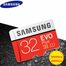 Original SAMSUNG Micro SD Memory Card EVO+ Plus 32GB Class10 waterproof TFFlash Memoria Card C10 SDHC/SDXCUHS-1 For Smart phones