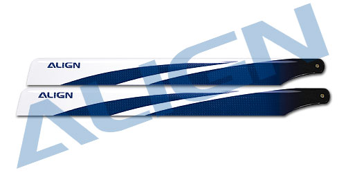 Align Trex 360 Carbon Fiber Blades-Blue HD360B Trex 450 Spare Parts Free Shipping with Tracking