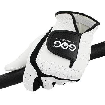 Męska rękawica golfowa prawdziwa skóra owcza oddychające rękawiczki męskie lewa ręka pasuje małe średnie ML duże XL XXL tanie i dobre opinie Prawdziwej skóry ST007
