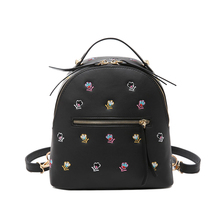 Fashion Vintage Embroidered Sweet Backpack Classic Backpacks Women Fashion Bags School Luxury Flowers Bags feminina backpack 401