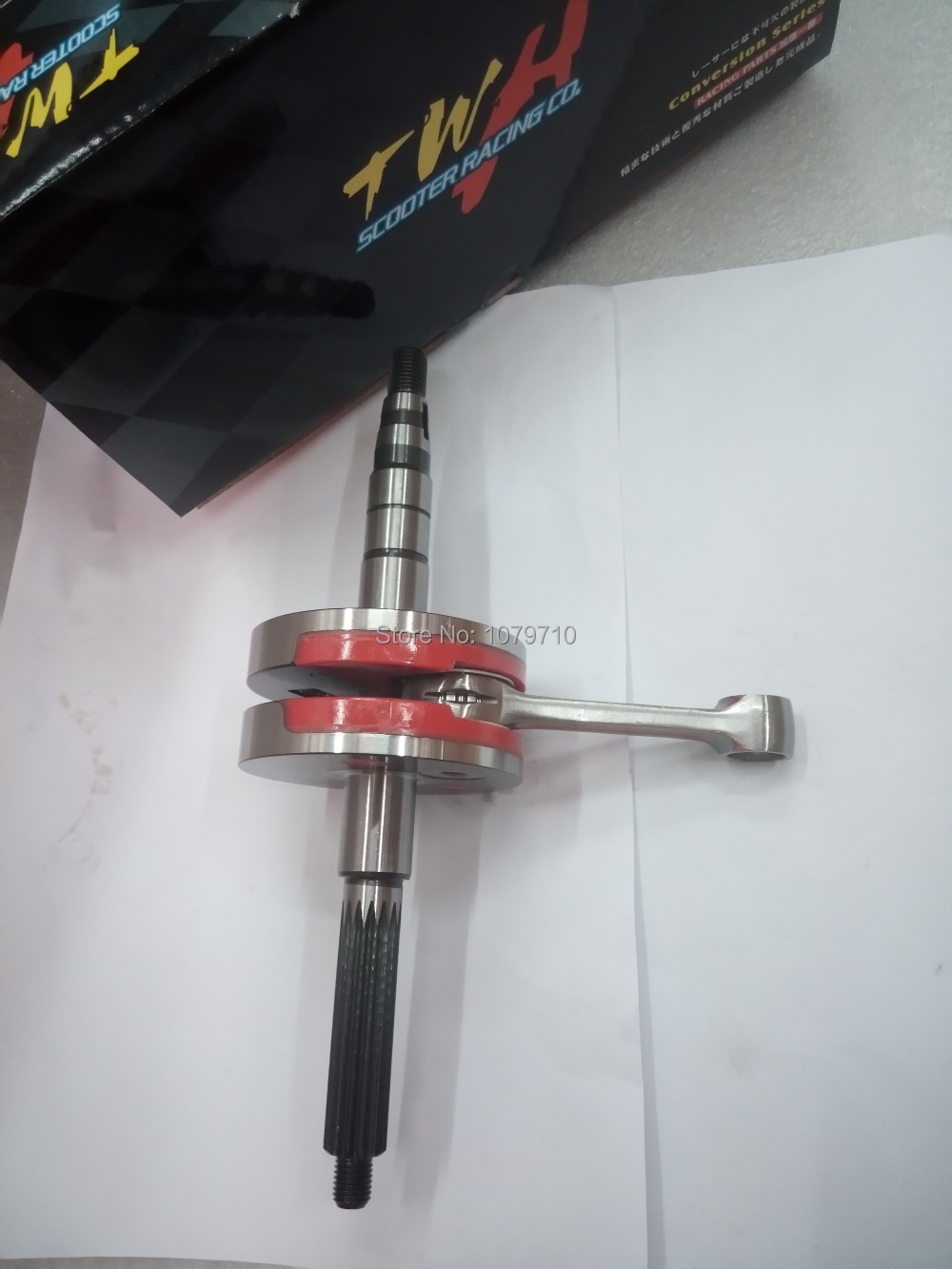 US $85 0 |Crankshaft for YAMAHA JOG 90cc 45MM +(3 0)  High Performance  scooter engine accessories crank for Racing 100% Made In Taiwan-in  Crankshafts