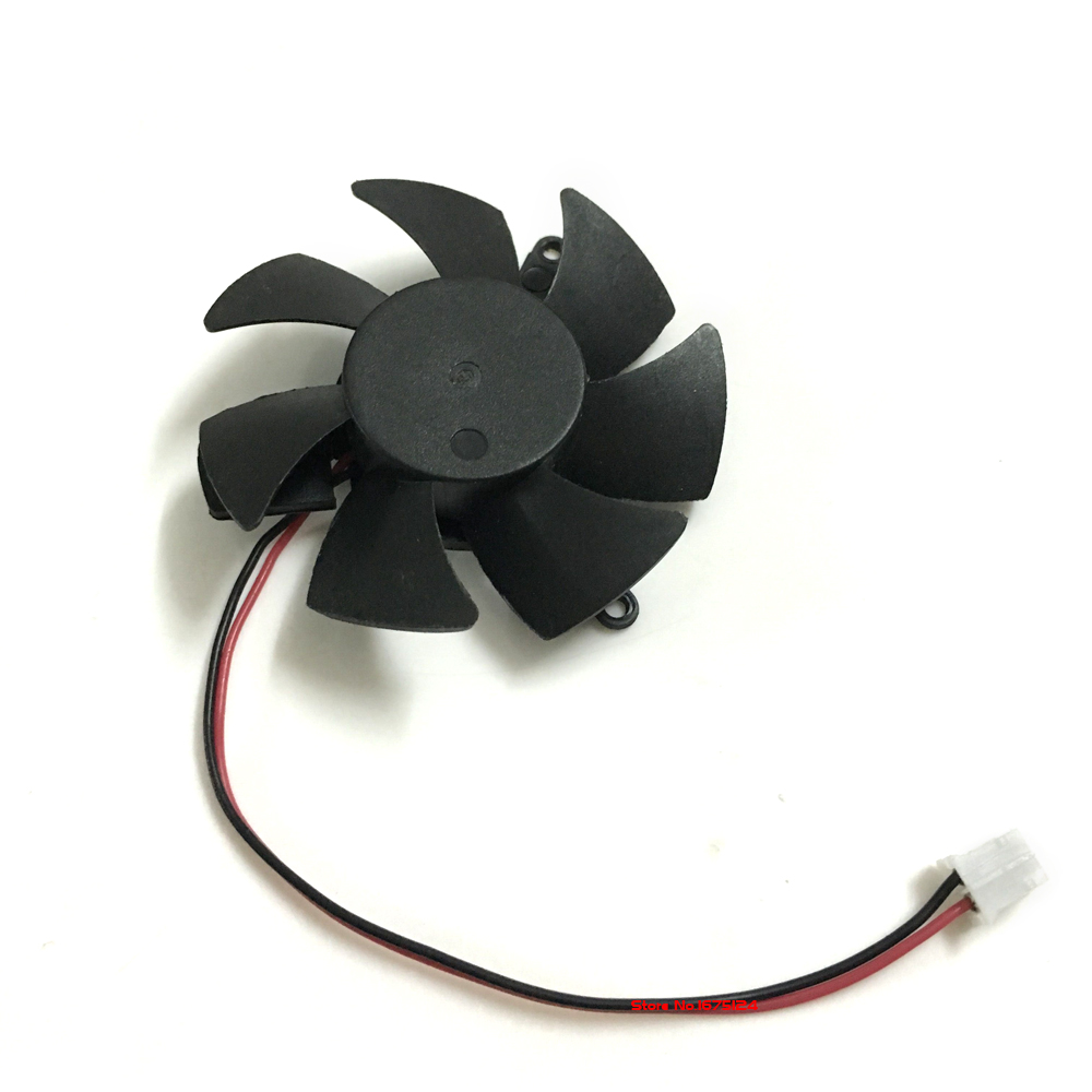 DF0501012SEE2C 47mm DC 12v Computer radiator VGA Cooler Fan For nVIDIA Geforce GT220 GTS210 Graphics Video Card cooling computer radiator cooler of vga graphics card with cooling fan heatsink for evga gt440 430 gt620 gt630 video card cooling