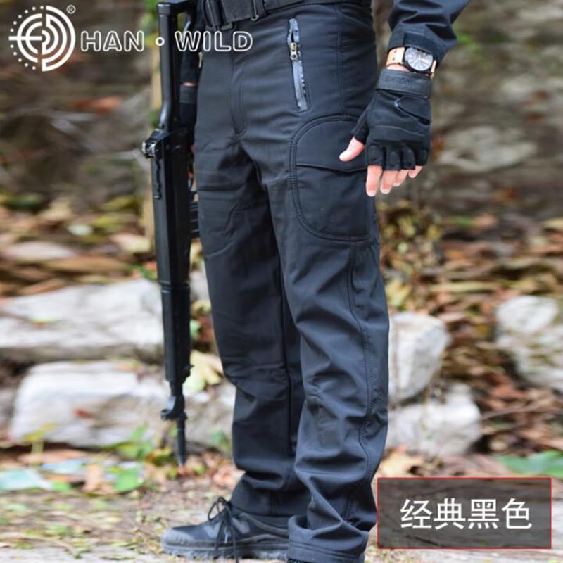 TAD Softshell Sharkskin Pants Tactical Camoufalge Hunting Pants Waterproof Men Outdoor Hiking Camping Sport Trouser