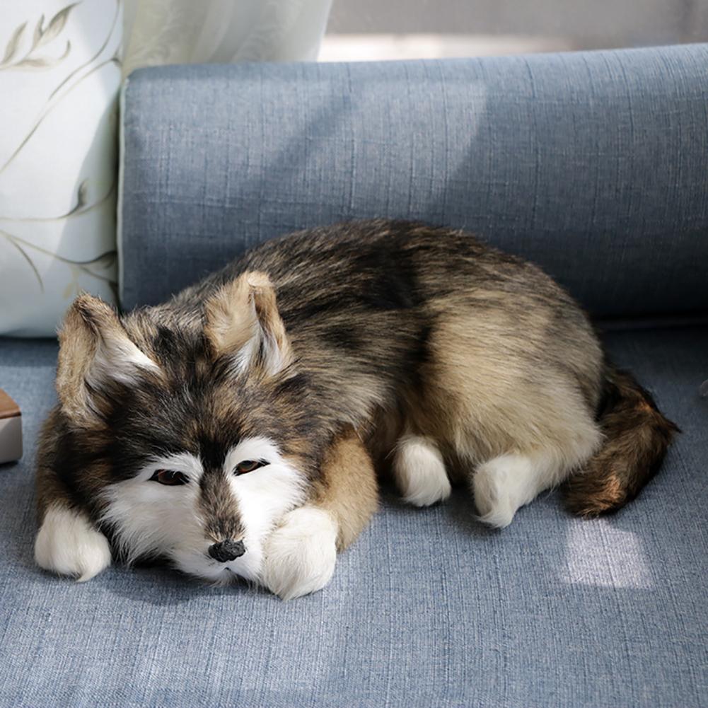 Фон для фотосъемки с изображением собаки хаски, домашний декор для автомобиля, коллекция игрушек, подарок для детей Мягкие игрушки животные      АлиЭкспресс