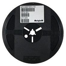 Mciicm 3000 peças mmbt5551lt1g mmbt5551 sot 23 2n5551 smd npn transistor de alta tensão 5551,mmbt5551