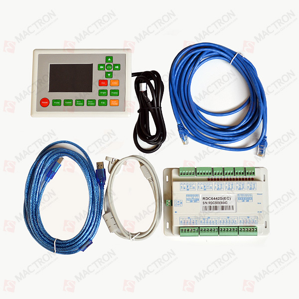 """""""Ruida RDC6442S"""" lazerinio aparato valdymo plokštė, lengvai valdomas """"Co2"""" lazerio valdiklis"""
