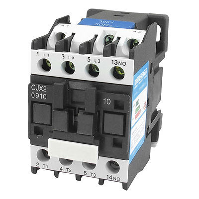 380V Coil Motor Controler AC Contactor 3P 3 Pole NO 660V 4KW CJX2-0910 best quality ac contactor cjx2 150 150a 3p used for ac motor