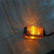 1 Pair Yellow Turning Signal Lamp Bulb Turn Light for 24V Truck Trailer Caravan