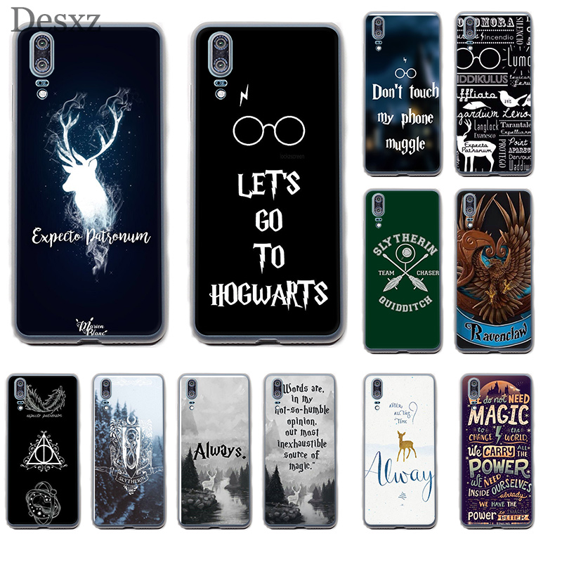 Phone Case Cover <font><b>HarryPotter</b></font> Dynamic For Huawei P8 P9 P10 P20 Pro Lite 2015 2016 2017 2018 P Smart Soft TPU Cases image