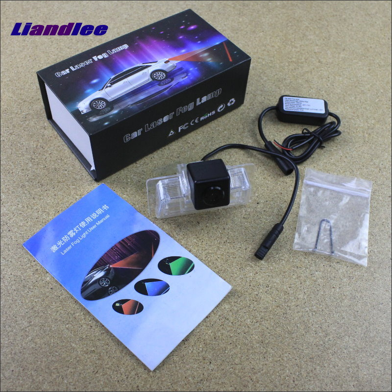 Liandlee Car Tracing Cauda Laser Light For Nissan Altima / Latio / Tiida Sedan / Maxima / Teana Anti Fog Lamps Rear Lights speed test counting module for smart tracing car yellow