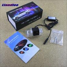 Liandlee Car Tracing Cauda Laser Light For Nissan Altima / Latio Tiida Sedan Maxima Teana Anti Fog Lamps Rear Lights