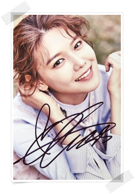 SNSD Choi Soo Young autographed signed original photo 4*6 inches collection new korean  freeshipping 02.2017 01