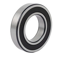 2RS6211 100mm x 54.5mm Single Row Double Shielded Deep Groove Ball Bearing