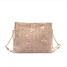 Embroidery Crossbody Handbags Phone Bag Womens Woven Wicke Bags For Women Chain Mini Straw Bucket 1688 Com Pouch