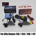 Para Alfa Romeo 156/159/166/147 de Visão Traseira Do Carro câmera A Laser + luz de Nevoeiro Traseira 2 Em 1 Collision Avoidance Segurança Activa sistema