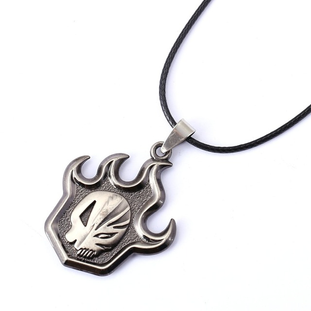Bleach Necklace Skull Pendant