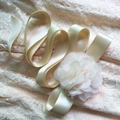 Hot Sales Women Designer Belts Simulation Ribbon Flowers Bridal Wedding Dress Belts Cummerbunds Clothing Accessories Sashes