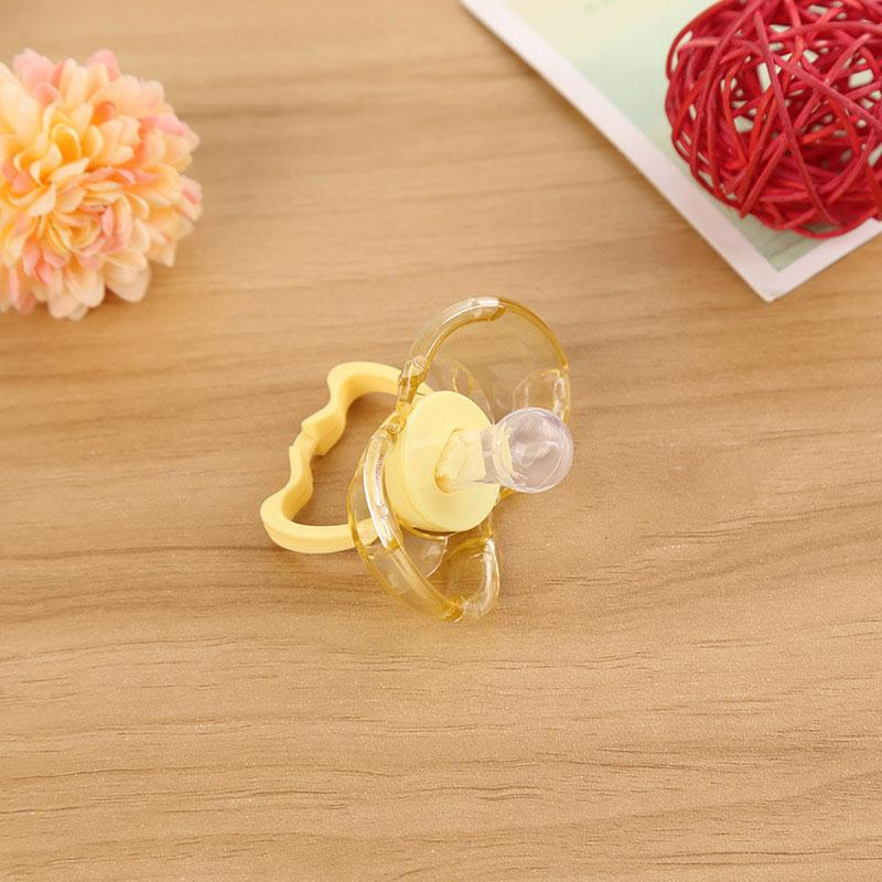 ITAAR Baby Teether Nipple Infant Automatic Closing Pacifier Sleep Calm Mouth Teether Gums Nipple Baby Care