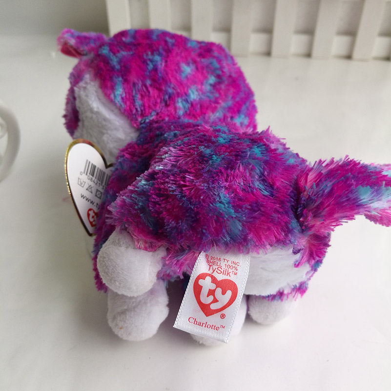 b85495e3bf9 charlotte cats TY BEANIE BOOS COLLECTION 15CM 6