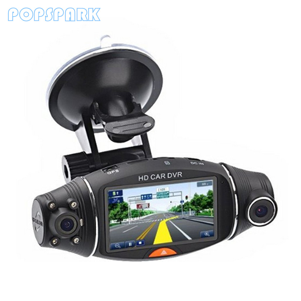 Dual Dash Cam >> Car Dvr Mirror Dual Dash Camera Dual Cameras Mirror Dashcam Full Hd Dashcamera In Car Video Camera Full Hd Dvrs