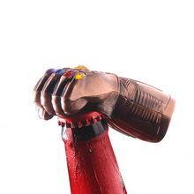 2019 NEW Marvel Avengers 4 Thanos Infinity Gauntlet Beer Opener Keychains Unique Personalized Jewelry Souvenir