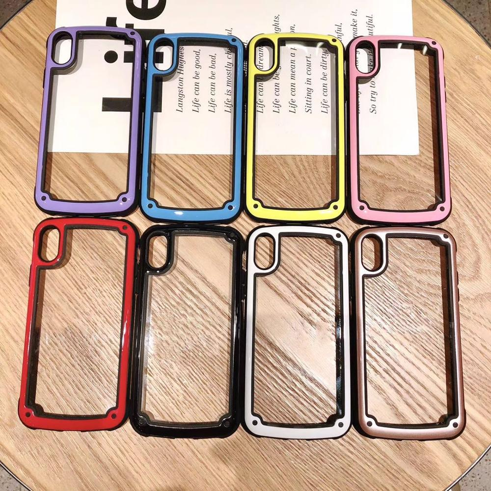 100PCS Luxury Fashion Cute Anti knock TPU Cases for iPhone 7 8 X XR XS Max
