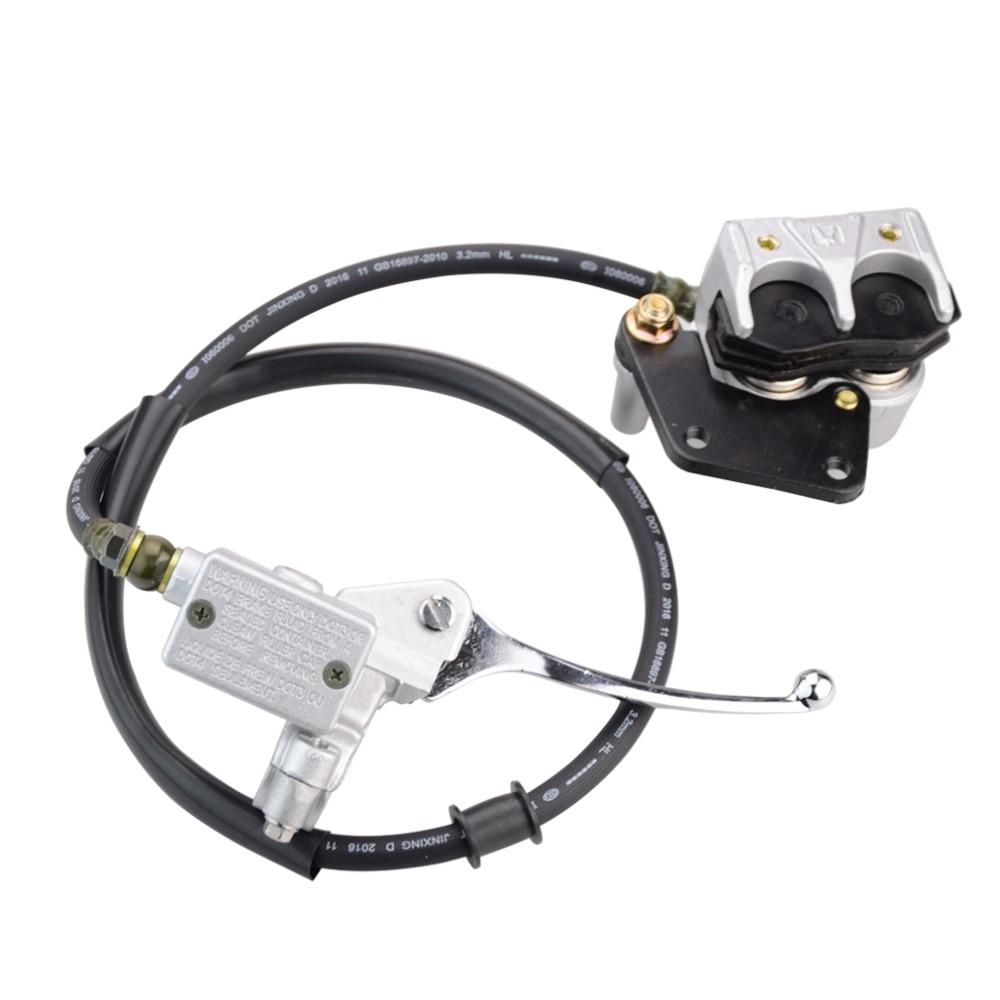 GOOFIT Гидровлический агрегат тормозного суппорта цилиндр для 50куб. см 70cc дюны 90cc воздух 110cc 125cc мотоцикла ATV Байк P038-413