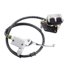GOOFIT Hydraulic Brake Assembly Caliper Cylinder for 50cc 70cc 90cc 110cc 125cc ATV Dirt Bike P038-413