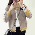 Hot Autumn Winter Women Ladies Cardigan Fashion Knitted Woolen Sweater Wrap All Match Comfort Swallow Gird Knitwear