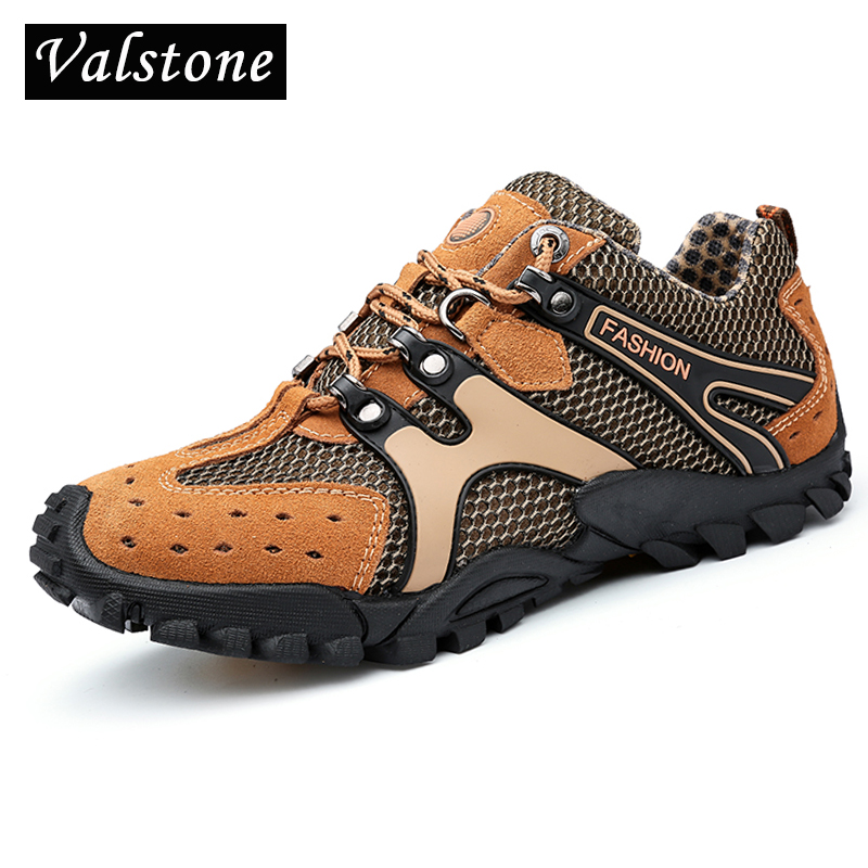 30c203e2ba08d Men ups Valstone fashion Vulcanized Rubber shoes super walking lace Casual  shoes outdoor sneakers bottom comfortable ...