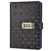 Restoration With Lock Code Gift Wenxing Stationery Notebook Lovers'diary Office Business Notebook Handbook