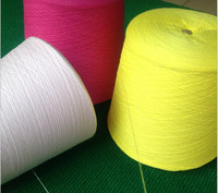 100 Cotton Yarn For Knitting Or Clothes Thread 32s 2 White Grey Colour Eco Friendly Healthy