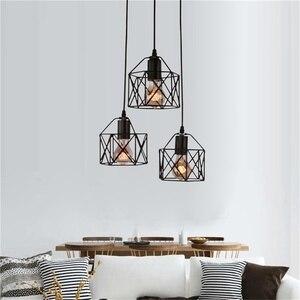 Image 3 - Lampes suspendues industrielles rustiques américaines cuisine île lampe café suspension luminaires modernes lampe minimaliste nordique