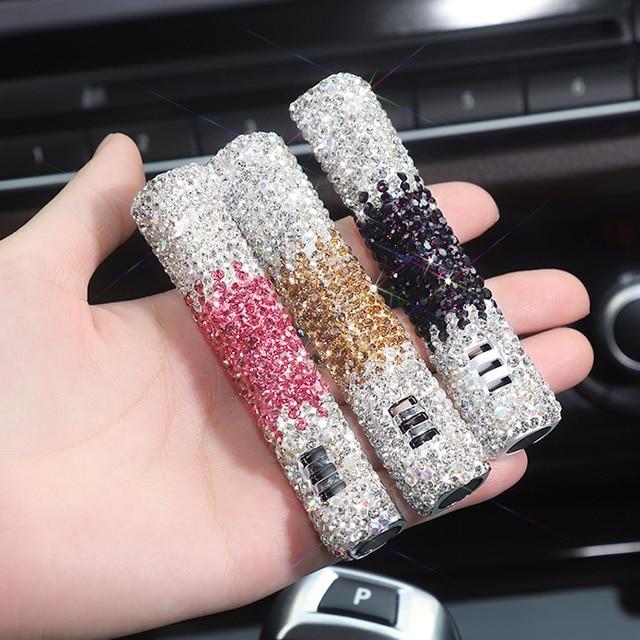 1 pièces livraison directe voiture parfum voiture désodorisant diamant Auto climatiseur évent Clip Type bricolage ornement intérieur accessoires