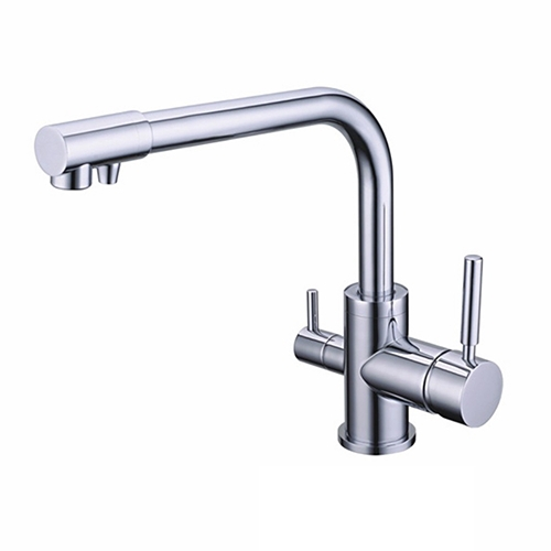 Hot/cold Water Tap 3 Way Faucet Kitchen2015 Grifos Cocina Dual Holder Single Hole None Torneira Cozinha Ro Filtered Water, : 91lifestyle