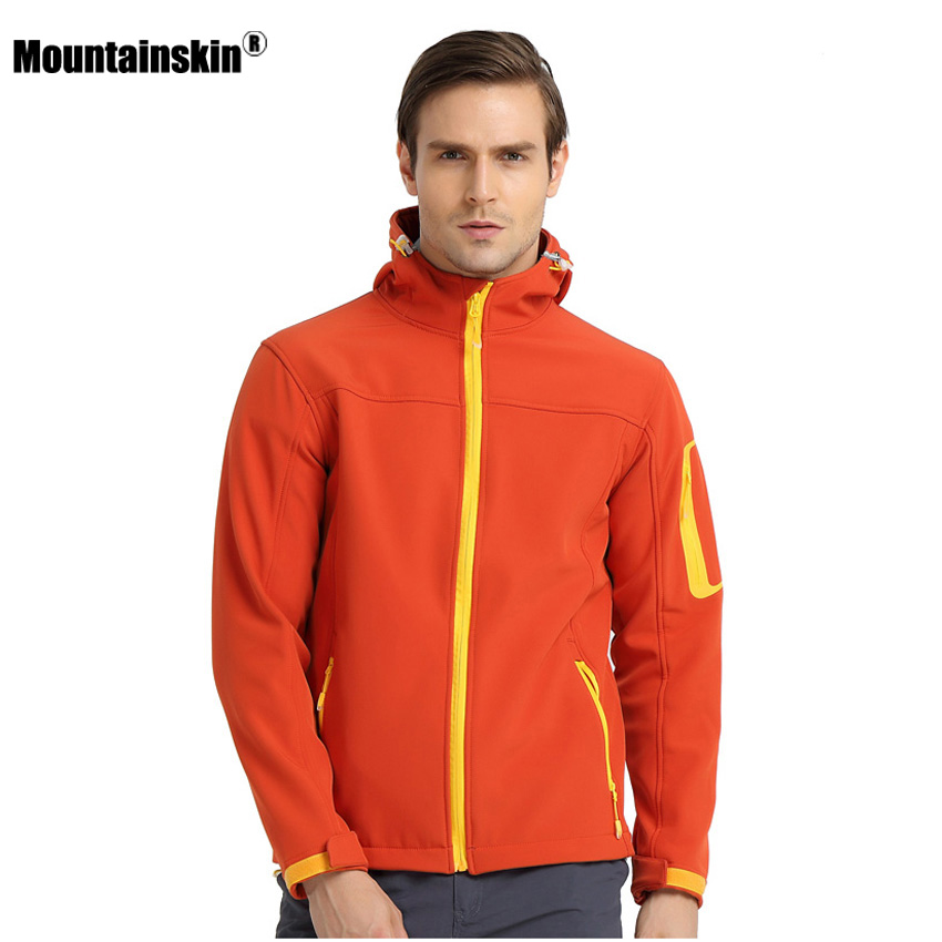 Mountainskin Men's Autumn Fleece Softshell Jacket Outdoor Waterproof Coat Hiking Trekking Camping Sports Male Windbreakers VA269 декоративные свечи arti m свеча подсвечник jaylon 17х17х74 см